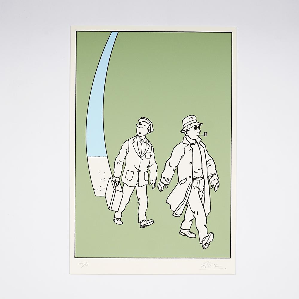 """Sphères"" Screen print"